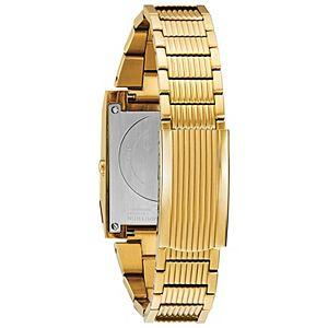 Bulova Men's Computron Gold-Tone Stainless Steel Digital Watch - 97C110