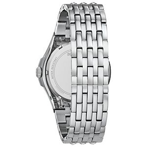 Bulova Men's Crystal Accent Stainless Steel Watch - 96A236