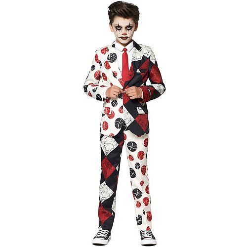 Boys 4-16 Suitmeister Vintage Clown Halloween Suit