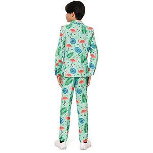 Boys 4-16 Suitmeister Tropical Flamingo Suit