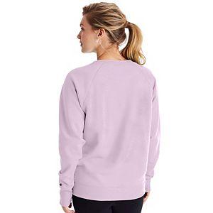 Women's Champion® Powerblend Fleece Boyfriend Sweatshirt