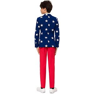 Boys 10-16 OppoSuits Stars & Stripes Americana Suit