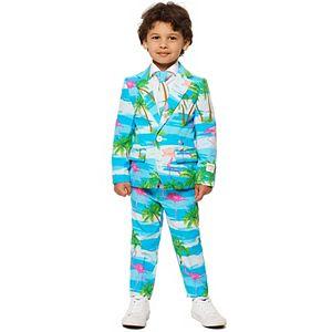 Boys 2-8 OppoSuits Flaminguy Flamingo Suit