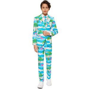 Boys 10-16 OppoSuits Flaminguy Flamingo Suit