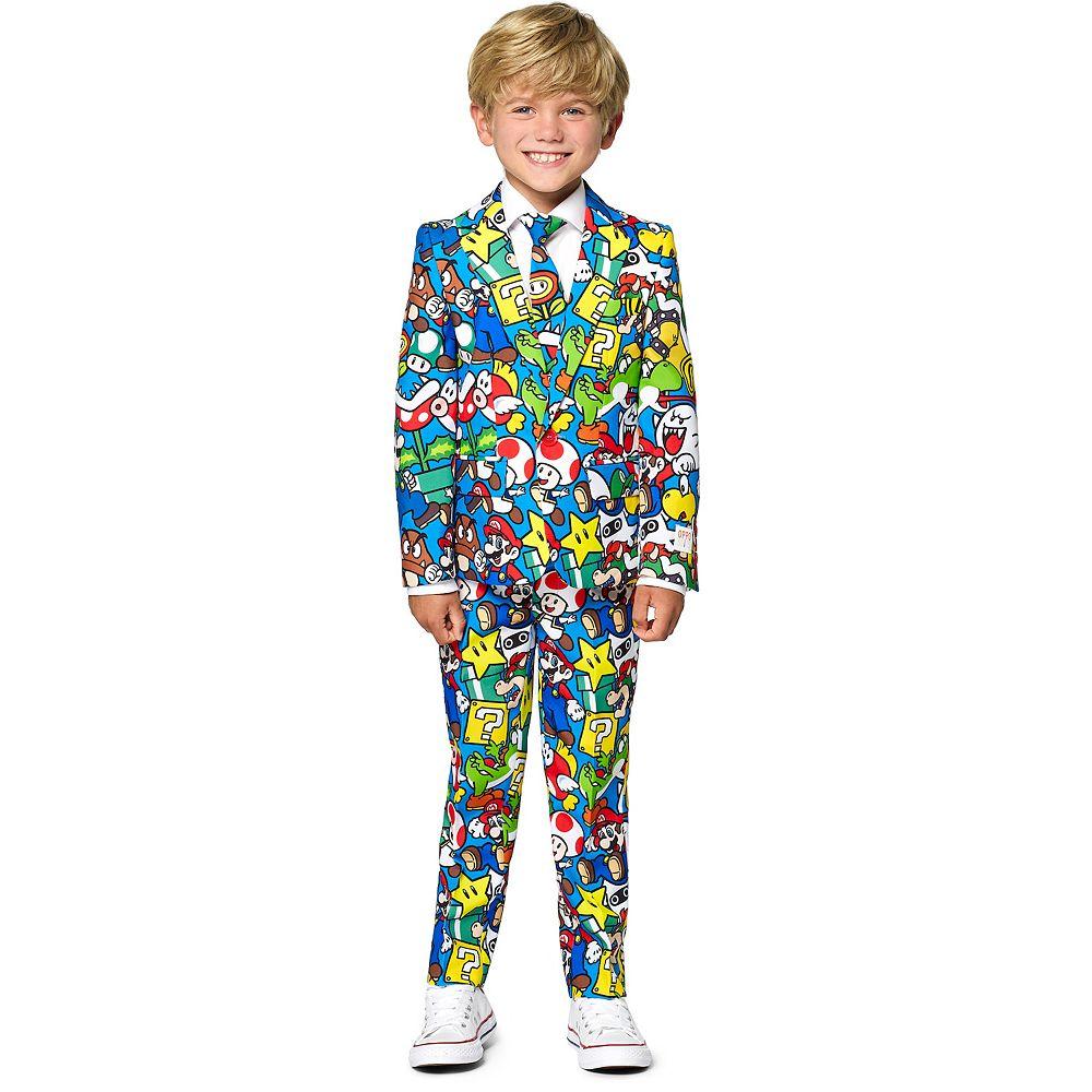 Boys 2-8 OppoSuits Nintendo Super Mario Suit