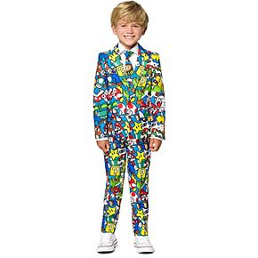 Boys 2-8 OppoSuits Nintendo Super Mario Suit