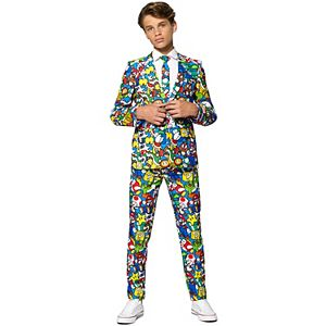 Boys 10-16 OppoSuits Nintendo Super Mario Suit
