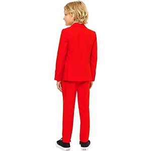 Boys 2-8 OppoSuits Red Devil Solid Suit