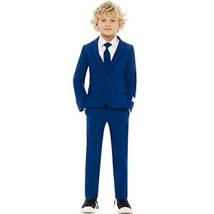 Boys 2-8 OppoSuits Navy Royale Solid Suit