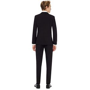 Boys 10-16 OppoSuits Black Knight Solid Suit