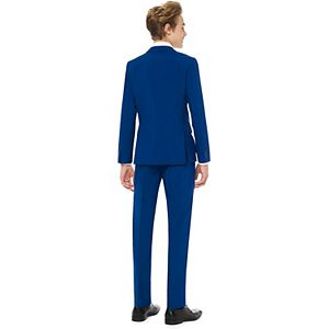 Boys 10-16 OppoSuits Navy Royale Solid Suit