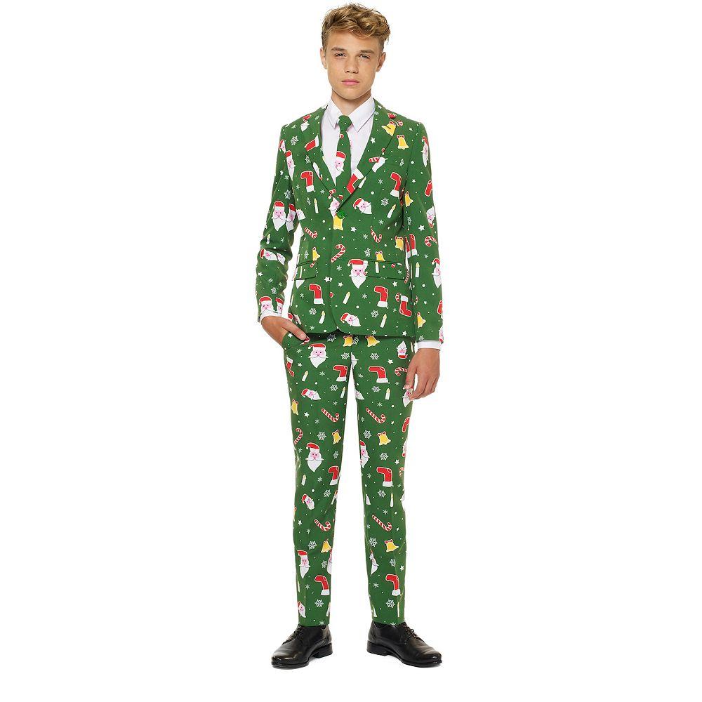 Boys 10-16 OppoSuits Santaboss Christmas Suit