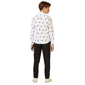 Boys 10-16 OppoSuits Christmas Penguins Shirt