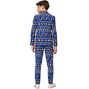 Boys 10-16 OppoSuits Nintendo Merry Mario Christmas Suit