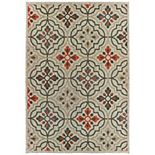 StyleHaven Lafayette Quatrefoil Panel Indoor Outdoor Rug