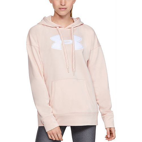Women's Under Armour Armour Fleece® Chenille Logo Hoodie by Under Armour Armour Fleece