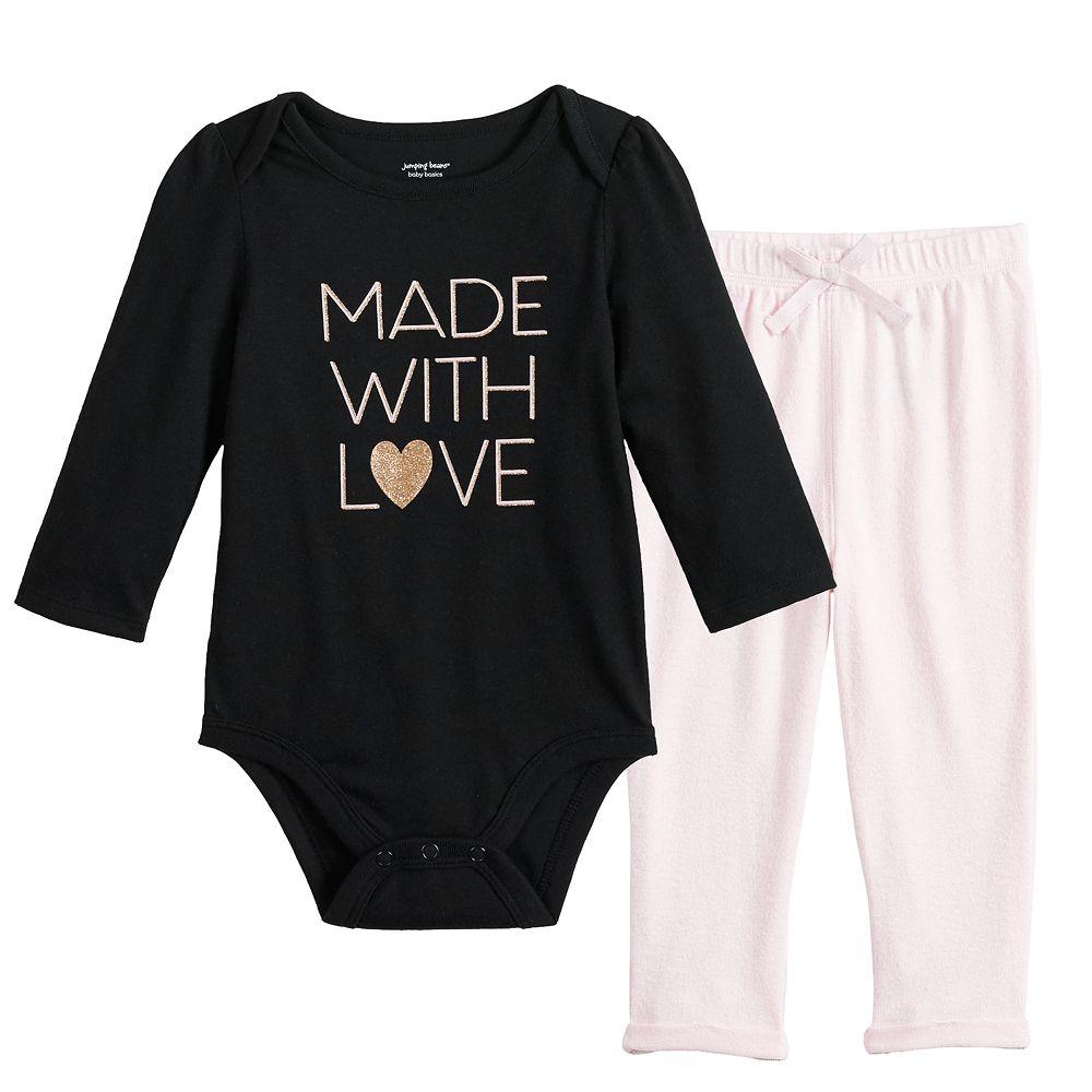 Baby Girl Jumping Beans® Bodysuit