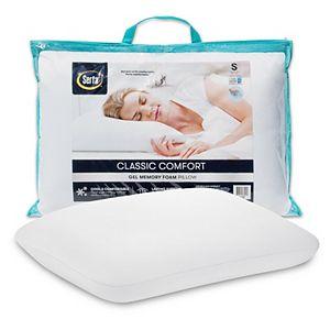 Serta Classic Comfort Gel Memory Foam Pillow