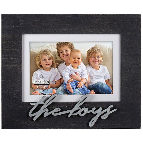 Malden Quot The Boys Quot Matted Black Frame