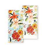 Celebrate Spring Together Spring Floral Toss Kitchen Towel 2-pk.