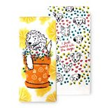 Celebrate Spring Together All the Dogs Kitchen Towel 2-pk.