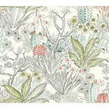 Outdoors In Flowering Desert Removable Wallpaper