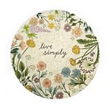 Celebrate Spring Together Live Simply Floral Placemat