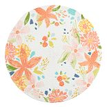 Celebrate Spring Together Spring Floral Braided Placemat