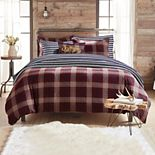G.H. Bass Canyon Plaid Comforter Set