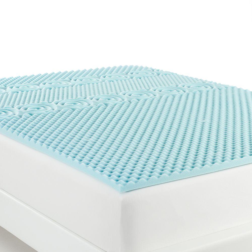 The Big One® Cool Flow Gel Memory Foam Mattress Topper