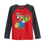 Boys 4-12 Jumping Beans® Mario Holiday Gift Tee