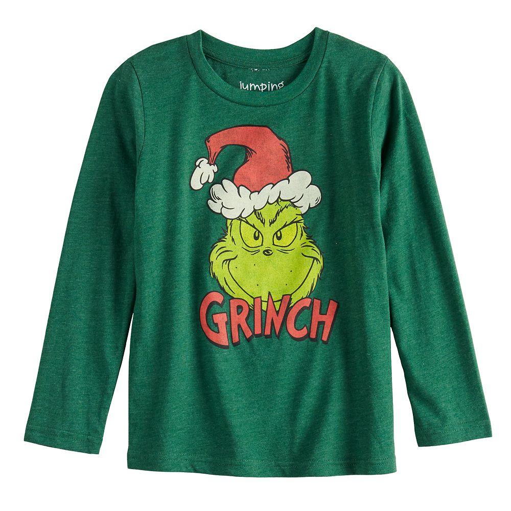 Boys 4-12 Jumping Beans® How the Grinch Stole Christmas Long-Sleeve Tee