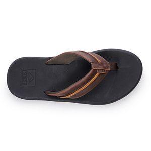 REEF Element Men's Leather Bottle Opener Sandals