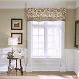 Croscill Delilah Layered Scallop Valance