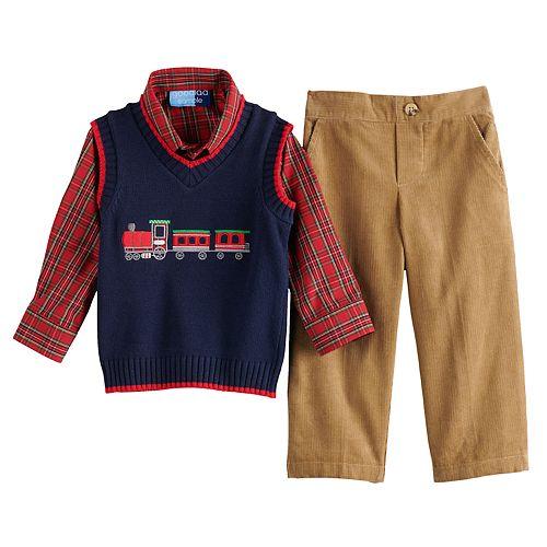 Toddler Boy Great Guy 3-Piece Sweater Set