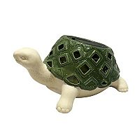 Deals on SONOMA Goods for Life Ceramic Turtle Lantern