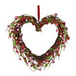 Celebrate Valentine's Day Together Berry Heart Wall Decor