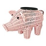 SONOMA Goods for Life® Wicker Pig Planter