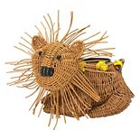 SONOMA Goods for Life® Wicker Lion Planter