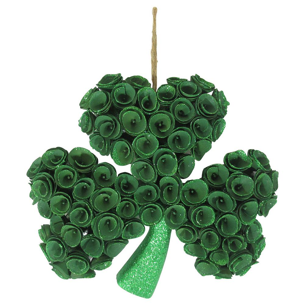 Celebrate St. Patrick's Day Together Shaped Woodcurl Wall Decor