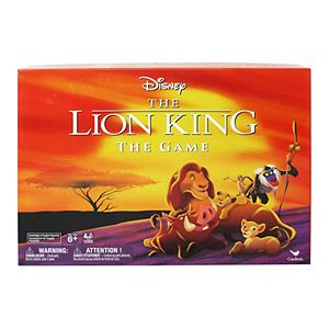 Retro '90s Disney Lion King Board Game by Spin Master