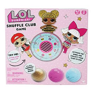 L.O.L. Surprise! Shuffle Club Game by Spin Master