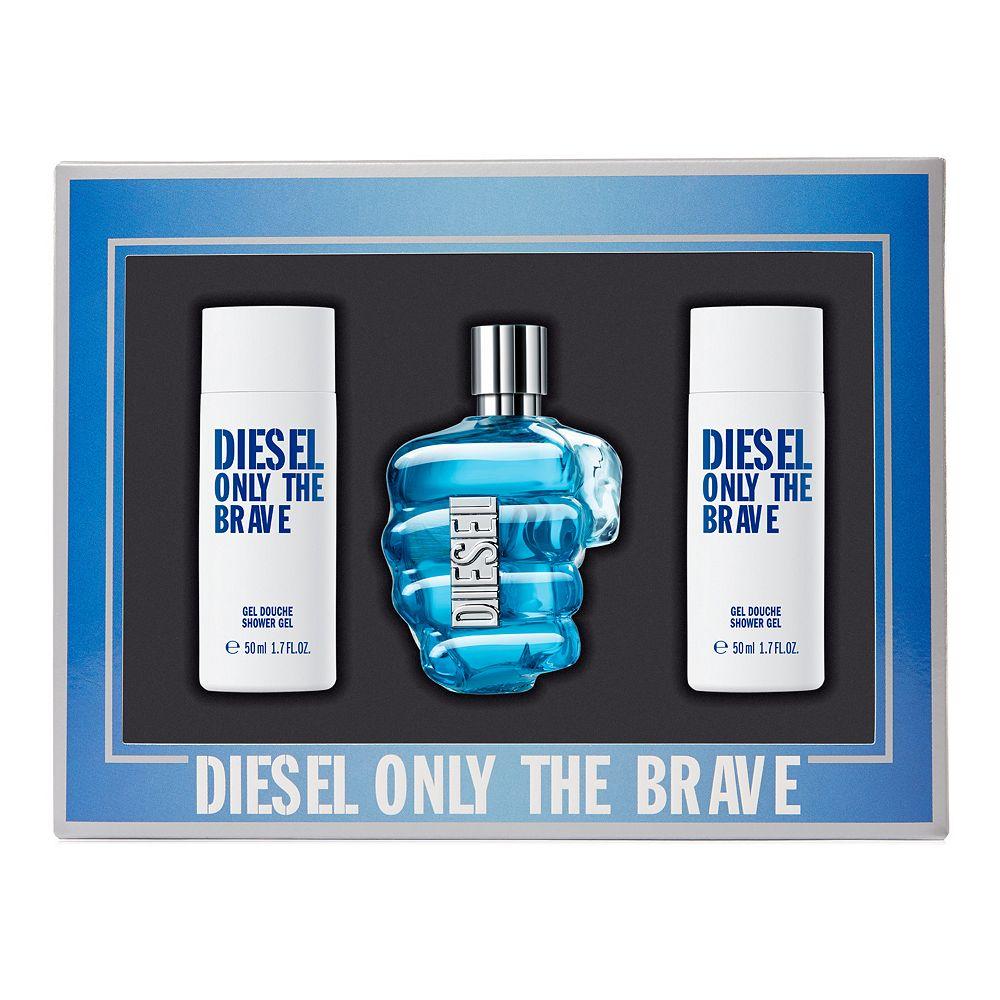 Diesel Only The Brave Men's Cologne Gift Set - Eau de Toilette ($71 Value)