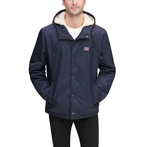Men's Levi's® Coaches Flight Hoodie Jacket with Sherpa Lining