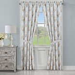 Royal Court Hilary Blue Window Curtain Set