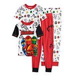 Boys 4-10 LEGO Ninjago Glow-in-the-Dark Tops & Bottoms Pajama Set