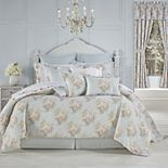 Royal Court Hilary Blue 4-Piece Comforter Set