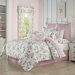 Royal Court Rosemary Rose 4-Piece Comforter Set