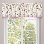 Royal Court Rosemary Rose Window Straight Valance