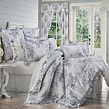 Royal Court Estelle Blue 4-Piece Comforter Set